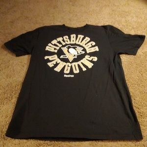 Reebok Pittsburgh Penguins Shirt, Tag Size L